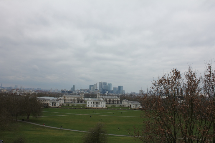 Greenwich'ten Londra