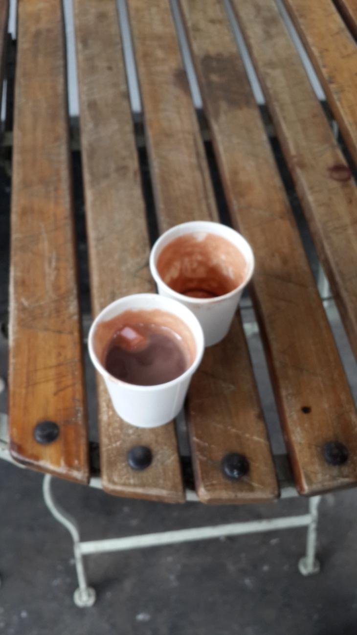 sıcak çikolata ikramı