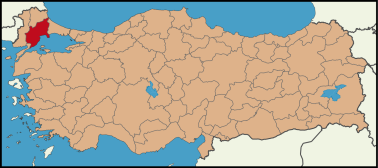 Latrans-Turkey_location_Tekirdağ.svg