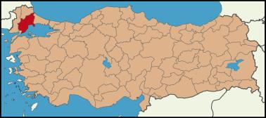Latrans-Turkey_location_Tekirdağ.svg